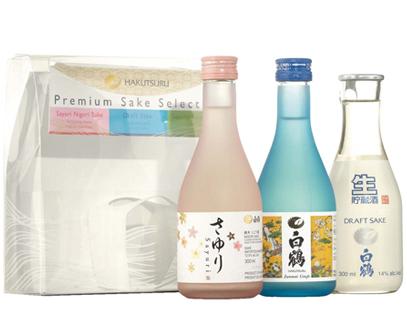 hakutsuru draft sake how to drink