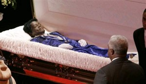 james brown open casket -#main