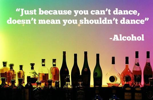 dance alcohol