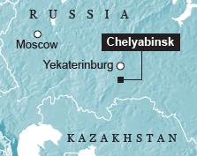 Chelyabinsk impact area