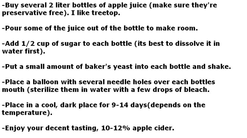 make apple cider