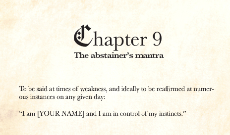 abstainer's handbook