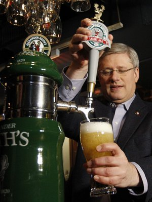 Harper is all about letting the fox mind the henhouse.