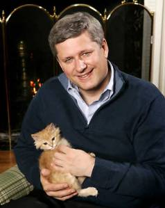 Only slightly larger than this morning's silverfish. More cuddly? Only Stephen Harper knows.