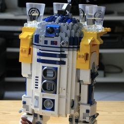 But R2D2, you are welcome any day. You are useful.