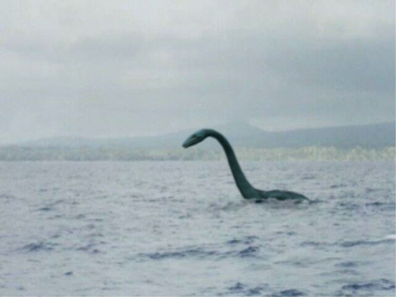 Thank you Wikipedia. We have a pic somewhere of my friend Scary riding the Ogopogo but it's gone missing :(
