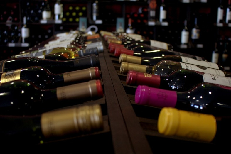 C2020 wine bottles