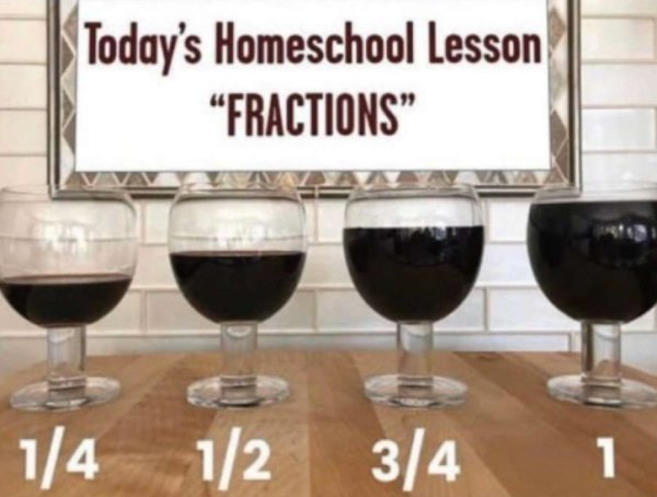 E2013 fractions with wine glasses